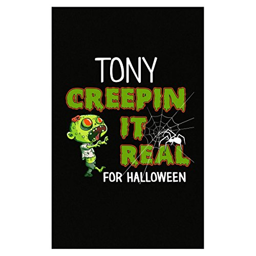 Prints Express Tony Creepin It Real Funny Halloween Costume Gift - Poster