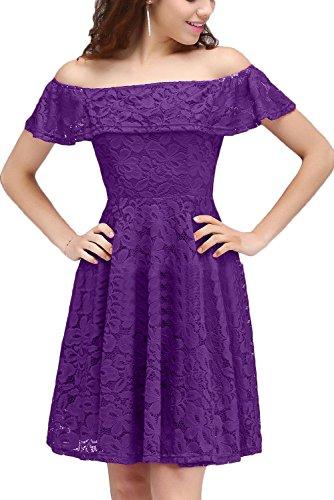 Missdressy -  Vestito  - linea ad a - Donna Lila 38