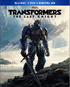 Cover Image for 'Transformers: The Last Knight [Blu-ray + DVD + Digital]'