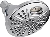 Delta 6-Spray Temp2O Touch Clean Shower Head with LED Digital Temperature Display, Chrome 75668