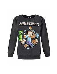 Minecraft Childrens/Boys Official Run Away Character Sweatshirt