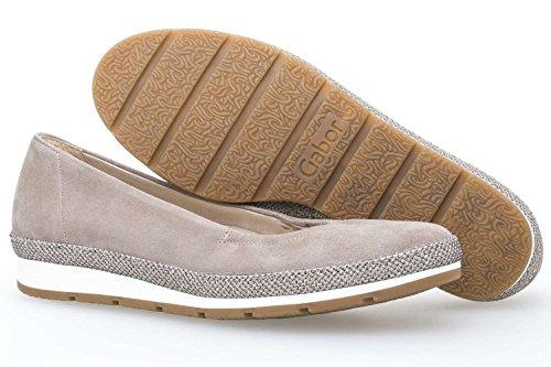 Gabor Shoes Comfort, Bailarinas para Mujer KOALA SUEDE