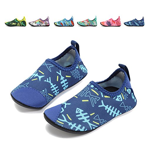 Coolloog Kids Swim Water Shoes Baby Soft Sole Shoes First Walker Barefoot Skin Infant Toddler ()