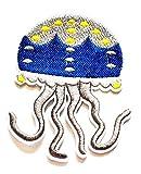 Nipitshop Patches Beautiful Jellyfish Squid Like