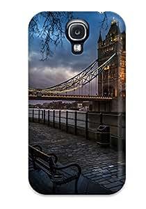 New Tower Bridge Tpu Case Cover, Anti-scratch Phone Case For Galaxy S4 3975464K32740481