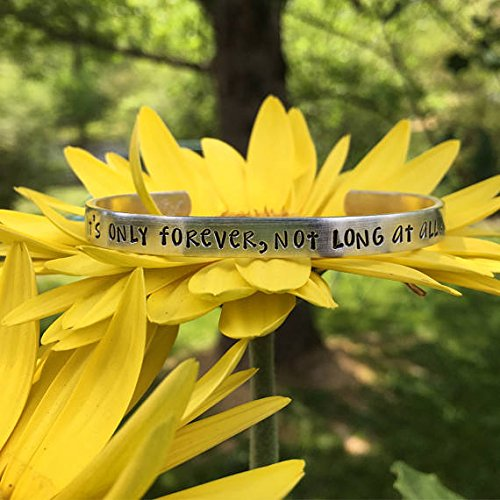 new-david-bowie-labyrinth-quote-bracelet-its-only-forever-not-long-at-all-david-bowie-bracelet-uniqu