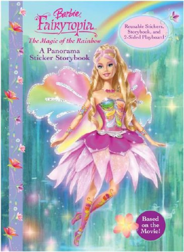 Read Online Barbie Fairytopia (panorama sticker book) The Magic of the Rainbow ebook