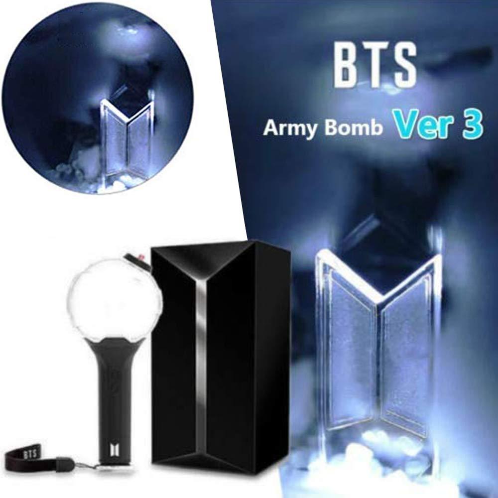 Kpop BTS Lightstick Bomb Light Stick Bangtan Boys Concert Lamp Bluetooth Ver.3 Support for Army (BTS Ver.3)
