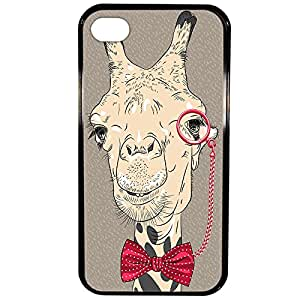 Lapinette HardCase - Funda para Apple iPhone 4/ 4S/ 4G, diseño Girafe
