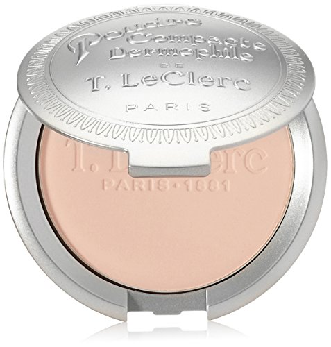 T. LeClerc Pressed Powder, shade=Ivoire