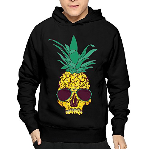 Pineapple Skull Cool Sunglasses Men's Hoodies Sweatshirt Cool