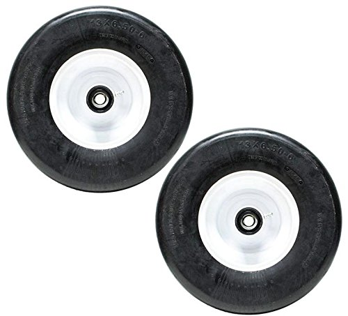 Lawnmowers Parts & Accessories 2 eXmark Lazer Z Front Caster Wheel Solid Tire 13x6.5-6 Flat Free Tire 103-0069 SHIP FROM USA