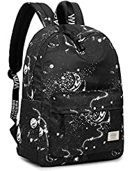 Bookbags for Teens, Unisex Classic Laptop Backpack School Bag Daypack by TOPERIN