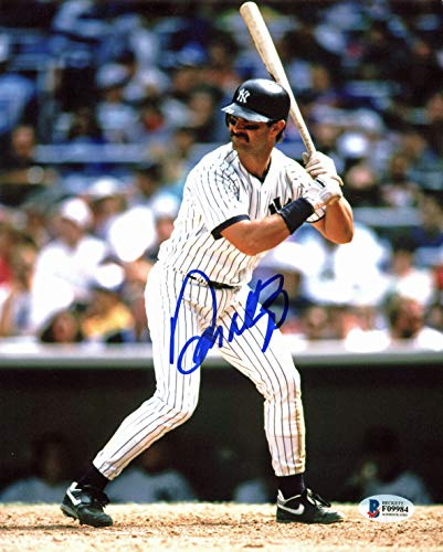 Autographed Mattingly Photo - Yankees Don Mattingly Authentic Signed 8x10 Photo Autographed BAS #F09984