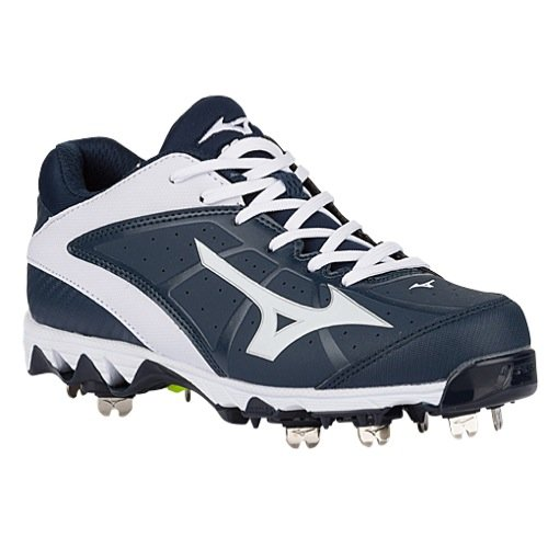 Mizuno Women's 9 Spike Swift 4 White-Black-w, 7.5 M US