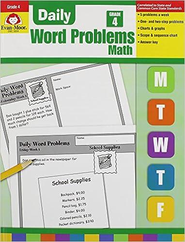 Evan Moor Daily Word Problems Grade 4 Pdf - mexicoseven