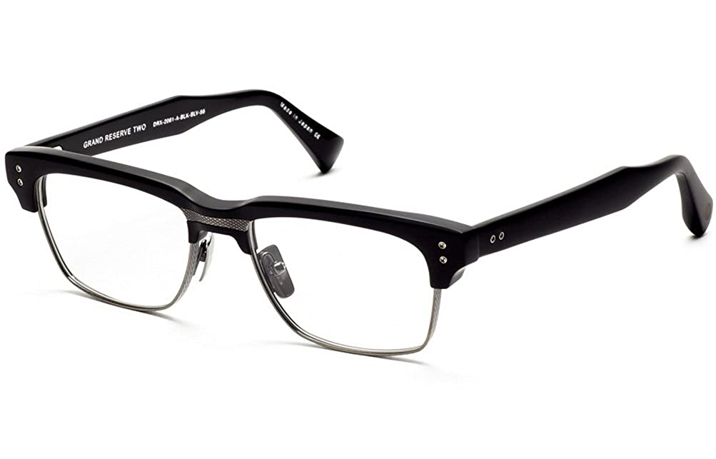 14a1912bbf96 Amazon.com  Dita Grand Reserve Two Eyeglasses 55 mm Black   Silver  Clothing