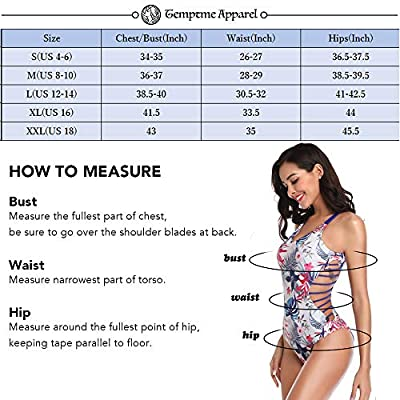 Temptme Women's Sexy Neck One Piece Monokini High Cut Swimsuit Bathing Suit at  Women's Clothing store
