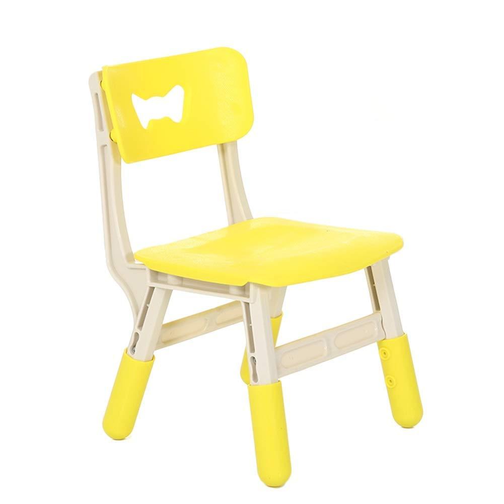 gituttio B WFENG Set tavolo e sedie per i bambini da imparare Tavolo da cucina regolabile altezza e sedia Home asilo nido facile da pulire e durevole gituttio B