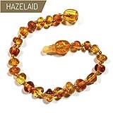 "Hazelaid (TM) 5.5"" Pop-Clasp Baltic Amber Honey"