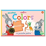 eeBoo Preschool Color Puzzle Pairs Matching Game