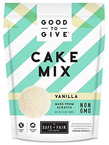 The Safe + Fair Food Company Vanilla Cake Mix
