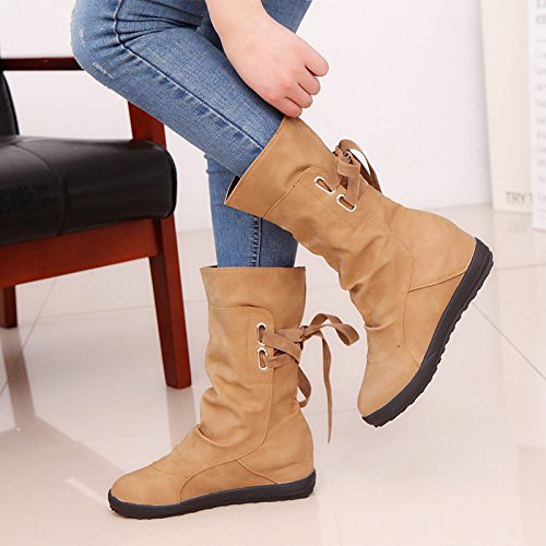 KHSKX-Large Size Shoes Increased In Boots A Bandage After Martin Boots Thirty-seven Qc5dN77