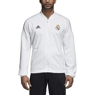adidas Real Madrid ZNE Jacket - Core White: Sports & Outdoors