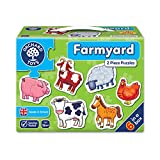 Orchard My First Puzzle, 6 Large-Piece Puzzles, Farm Animals