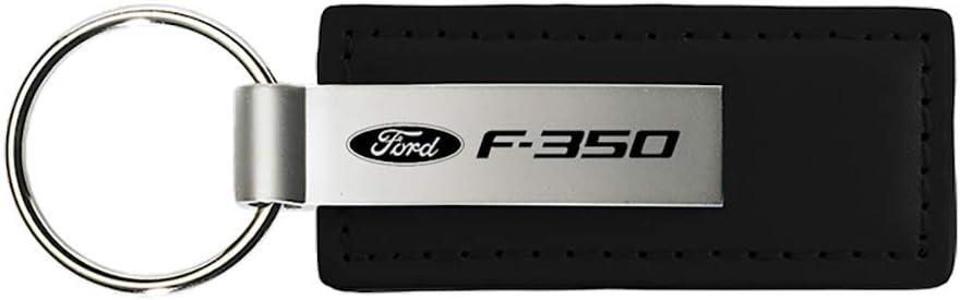 Ford Fusion Rectangular Black Leather Key Chain iPick Image