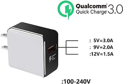 ZUZU Chargeur Rapide de Bureau à 6 Ports USB avec
