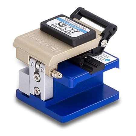 KONG ZI Bh385 Fibra Óptica Cable Cleaver con Metal, Máquina De Soldadura Hoja De Corte Especial Comparable para Cortar Fibra Óptica Cuchillo Herramientas ...