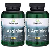 Cheap Swanson L-Arginine 500 mg 400 Caps