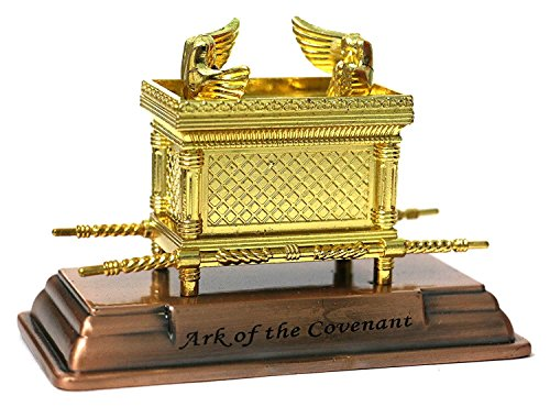The Ark of the Covenant Gold Plated Table Top Mini - 2 X 1.50 X 1.10
