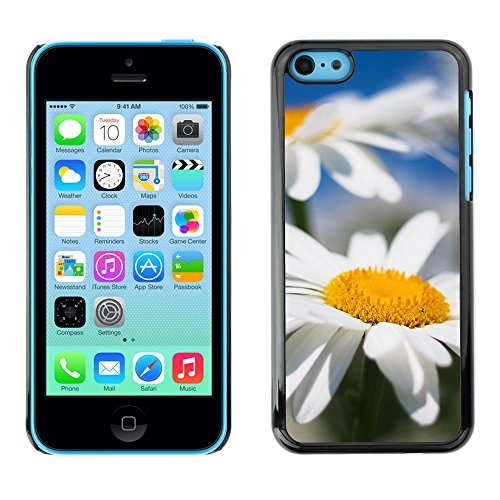 Premio Sottile Slim Cassa Custodia Case Cover Shell // F00025953 Bokeh de daizies // Apple iPhone 5C