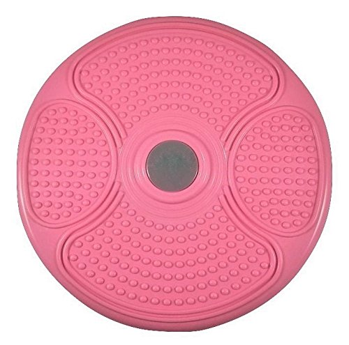 "MANYTONEZ Waist Trimmer Twist Board Large 14"" Diameter Disc with Workout Mat"