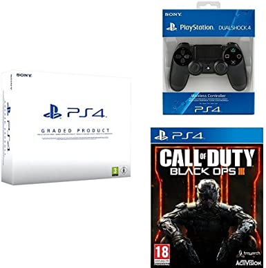 PlayStation 4 (PS4) 500 GB Consola - Blanca - Reacondicionada por ...