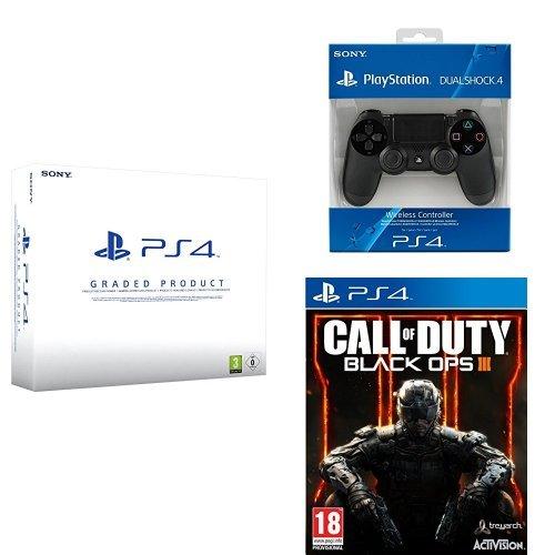 PlayStation 4 (PS4) 500 GB Consola - Reacondicionada por Sony ...