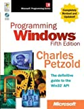 img - for Programming Windows , Fifth Edition (Developer Reference) 5th edition by Petzold, Charles (1998) Hardcover book / textbook / text book