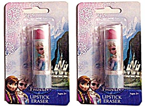 Disney Frozen Lipstick shape Eraser