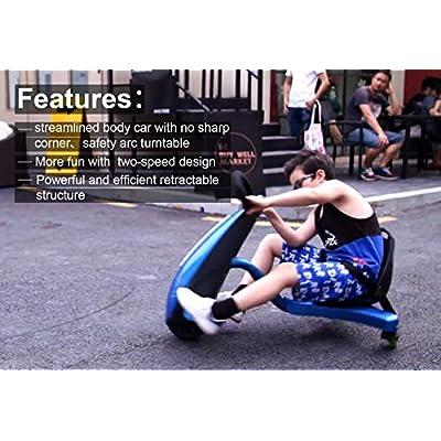 Drift Trike Kids, Tricycle Trike Kids Bike Kids Electric Drift Trikes, US Stock, Size 37.76