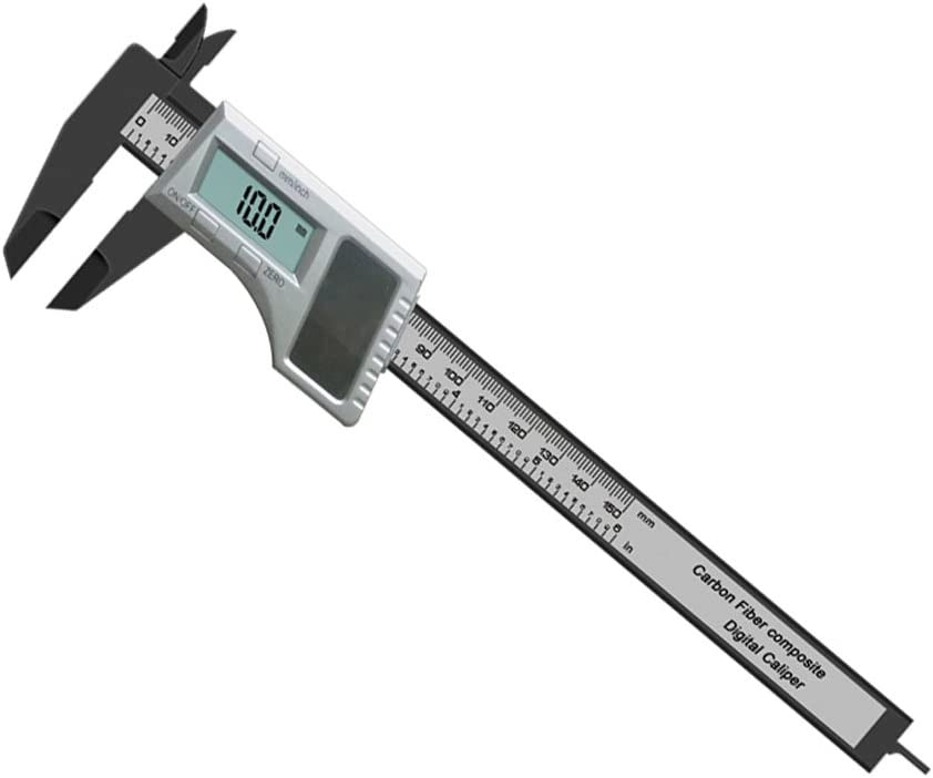Amazon Com Hawk 6 Solar Digital Caliper Tm55000 Home Improvement