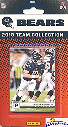 b1fb9c66a64 Chicago Bears 2018 Panini NFL Football Factory Sealed Limited Edition 11  Card Complete Team Set Mitchell