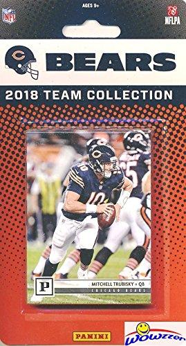3c9d9dd786a Chicago Bears 2018 Panini NFL Football Factory Sealed Limited Edition 11  Card Complete Team Set Mitchell Trubisky, Jordan Howard, Tarik Cohen, ...