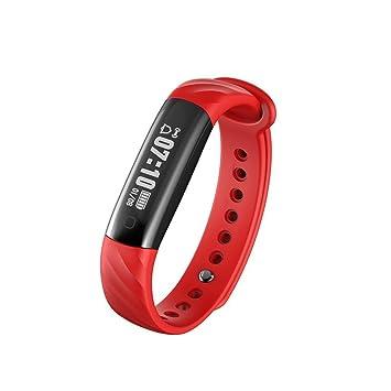 pulsera inteligentes, Sannysis monitor de ritmo cardíaco, sueño, Soporte de aplicaciones, Impermeable