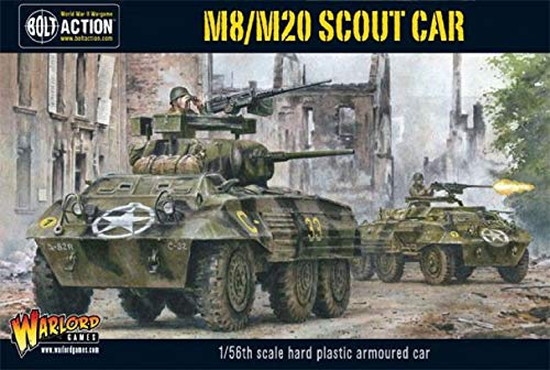 Warlord Games  M8/m20 Greyhound Armoured Car  Bolt Action Wargaming Model