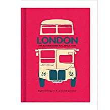 London Vantage Galore Collection Lined Notebook: Vy8643