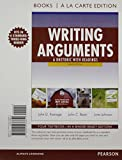 Writing Arguments : A Rhetoric with Readings, Books a la Carte Plus NEW MyCompLab with EText -- Access Card Package, Ramage, John D. and Bean, John C., 0321951476
