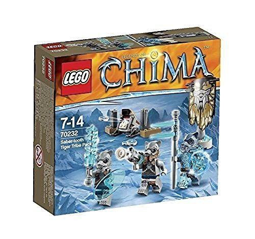 Brand new LEGO Chima 70232 Saber tooth Tiger - Chima Tiger Lego Sets
