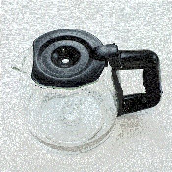 5 Cup Glass Black Carafe for Black and Decker DCM600B (Black Decker 5 Cup Coffee Maker compare prices)